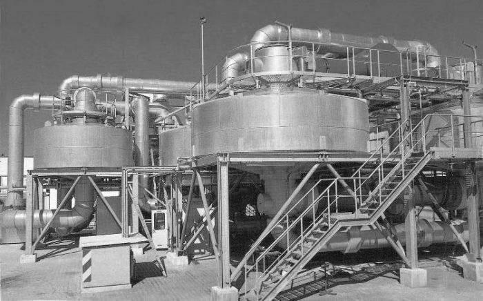 جداسازی حلال از گاز یا هوا
