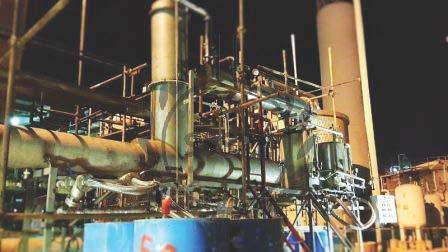 ساخت تجهیزات تولید و بازیافت حلال های آلی